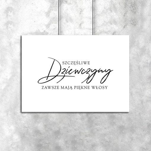 Plakat z motywem typograficznym