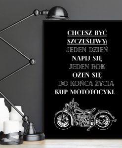 Plakat do męskiego salonu