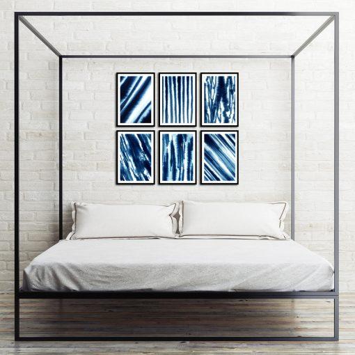 zestaw plakatów na ścianę do sypialni