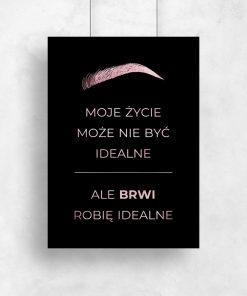 Plakat na ścianę do salonu kosmetycznego