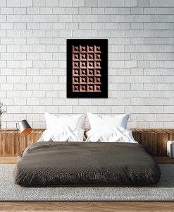 Plakat miedziany do sypialni