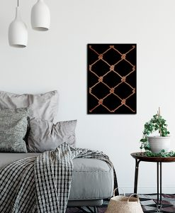Plakat z motywem lin żeglarskich do sypialni