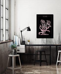 Plakat z efektem lustra do biura