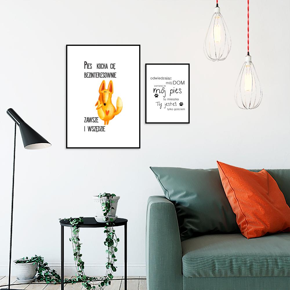 galeria plakatów dla wielbicieli psów