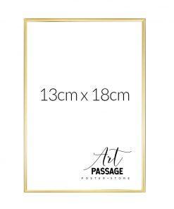 złota ramka na plakaty 13x18