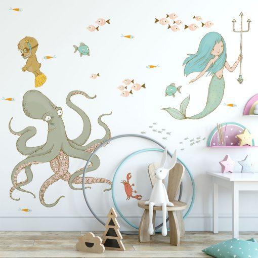 Naklejka kolorowa do pokoju dziecka