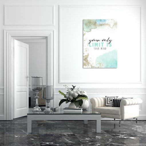 Plakat akwarelowy do salonu