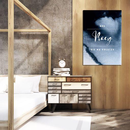 Plakat z przysłowiem do ozdoby sypialni