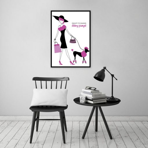 Plakat do ozdoby salonu