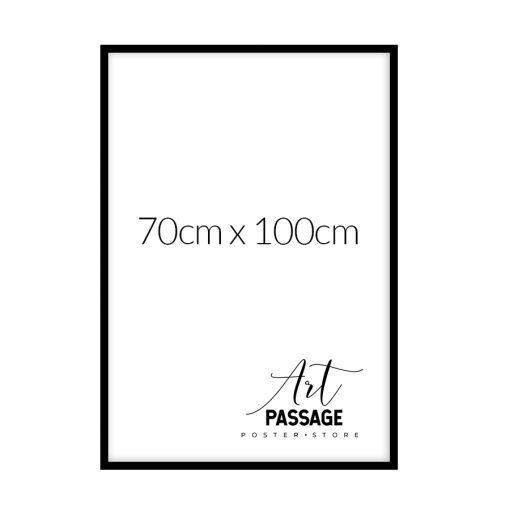czarna rama do plakatu 70x100