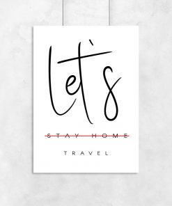 Plakat podróż