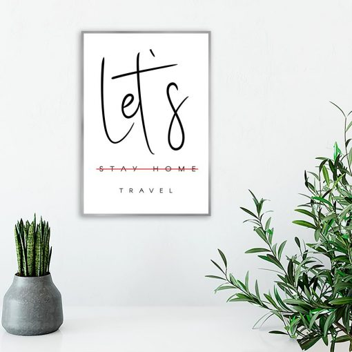 Plakat motyw podróży