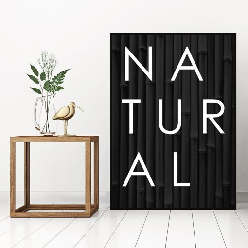 Plakat natural