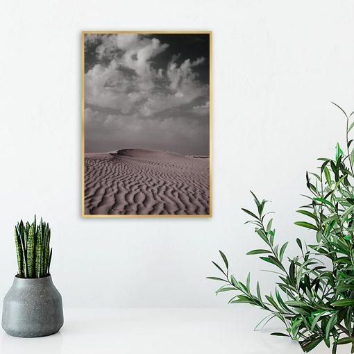 Plakat krajobraz pustyni