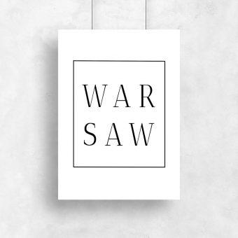 Plakat Warsaw