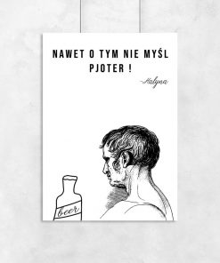 Plakat alkohol