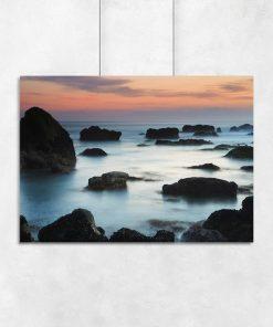 Plakat morskie wybrzeże