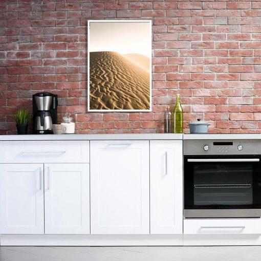 Plakat piaski pustyni