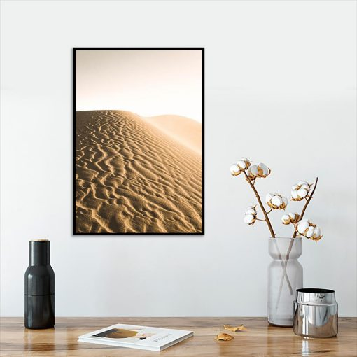 Plakat pustynny krajobraz
