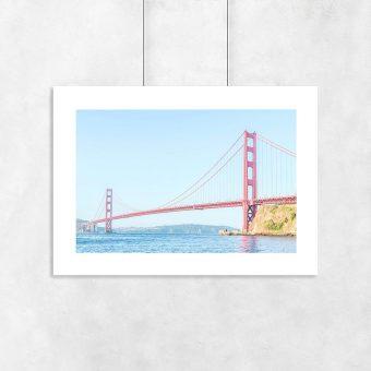 Plakat motyw San Francisco