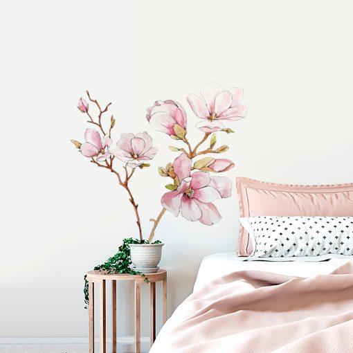 Naklejka ścienna magnolia