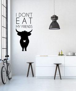 Ornament ścienny z motywem wegetarianizmu