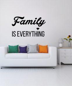 Ornament napis o rodzinie