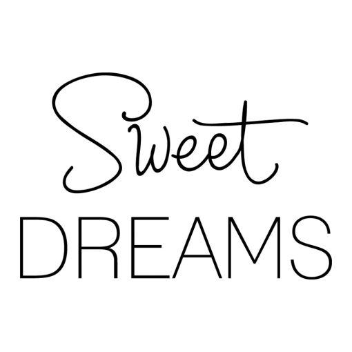 Naklejka na ścianę sweet dreams