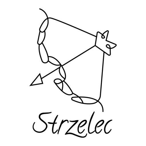 Naklejka ścienna znak zodiaku strzelec