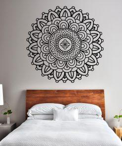 Naklejka na ścianę mandala