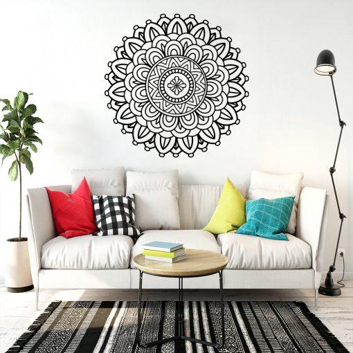 Ornament jednokolorowy mandala
