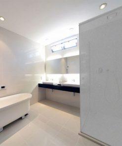 folie z efektem piaskowanego szkła na kabiny prysznicowe