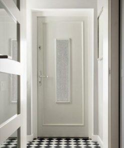 folia piaskowane szkło na szyby w drzwiach