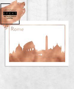 miedziany Rzym na plakacie