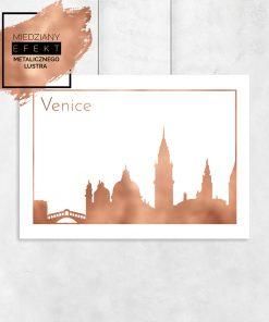miedziana Wenecja na plakacie na ścianę