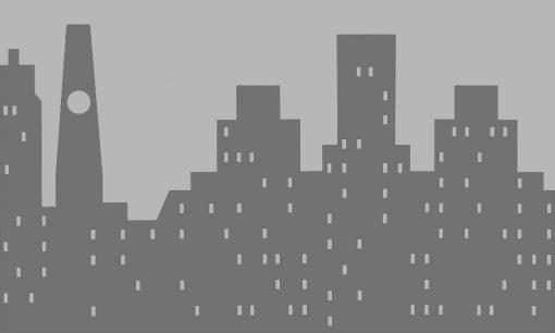 naklejka na szybę budynki
