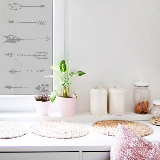 Folia okienna z wzorem