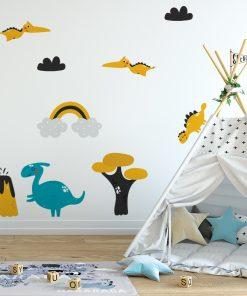 naklejki na ścianę dla dzieci