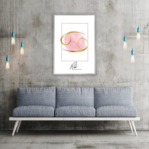 dekoracje z rakiem