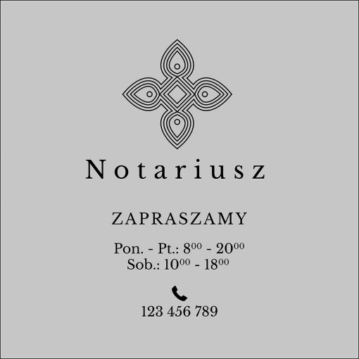 okleina notariusz godziny otwarcia