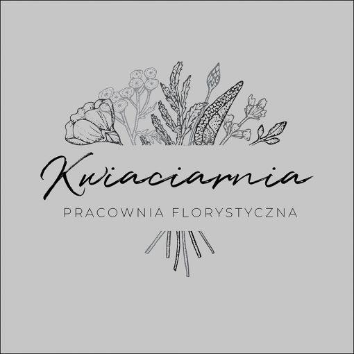naklejka do kwiaciarni logo