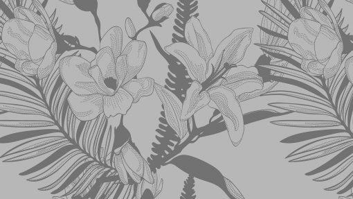 samoprzylepny obrus z liliami