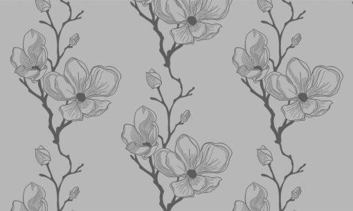 naklejki z kwiatami