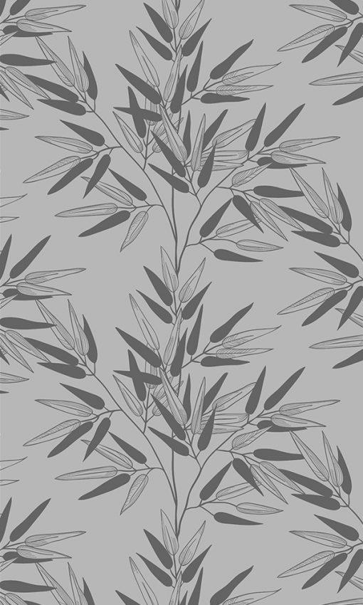 okleina z roślinami