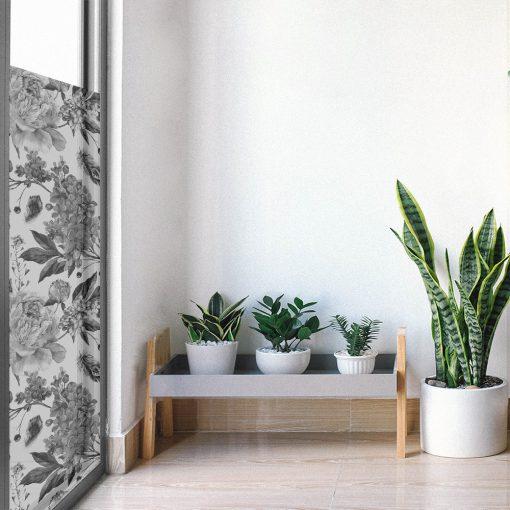 folia mrożona z okno