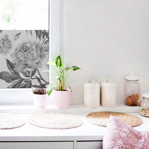 dekoracyjna mrożonka na okno