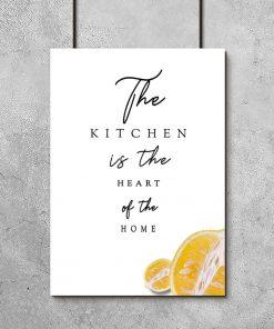 plakat z cytryną i napisem
