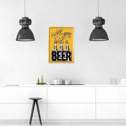 plakat beer