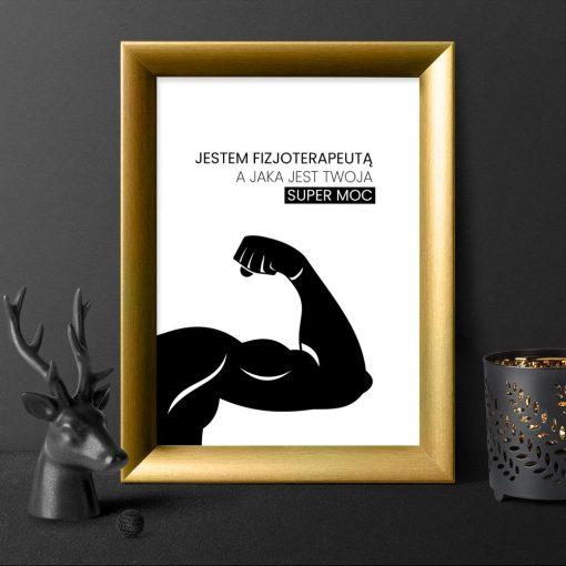 plakat fizjoterapia
