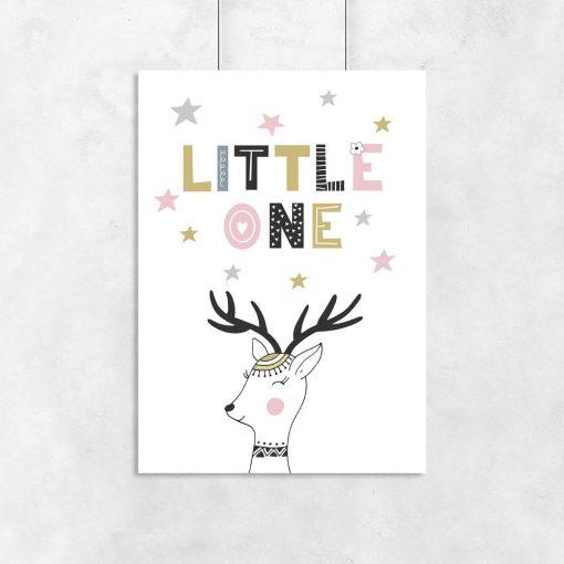 dziecięcy plakat little one